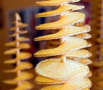 Картофельные чипсы на палочке - «Закуски»