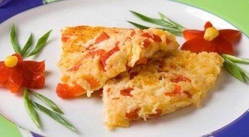 Яичница «Миш-маш» на завтрак по-болгарски - «Закуски»