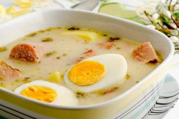 Польский журек на закваске - «Первое блюдо»
