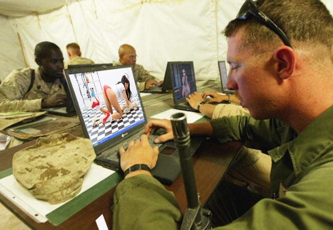Российские хакеры деморализуют американских солдат с фейковых аккаунтов красивых девушек