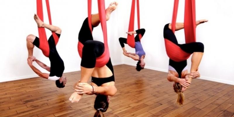 Воздушная йога - «Здоровье»