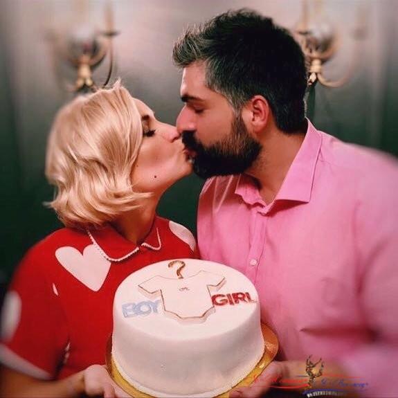 """""""Торт с загадкой"""": Полина Гагарина интригующе поздравила мужа с годовщиной свадьбы - «Любовь»"""