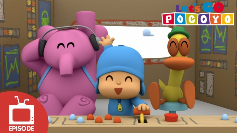 Let's Go Pocoyo! - Space Mission [Episode 9] in HD  - «Видео советы»