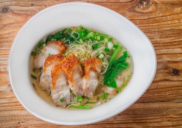 Согревающий острый тайский суп - «Второе блюдо»