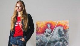 Картина украинской художницы Анны Диановой стала частью коллекции Андреа Бочелли