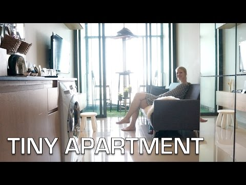 Small Apartment Space home tour | Interior design ideas (Bangkok)  - «Видео советы»