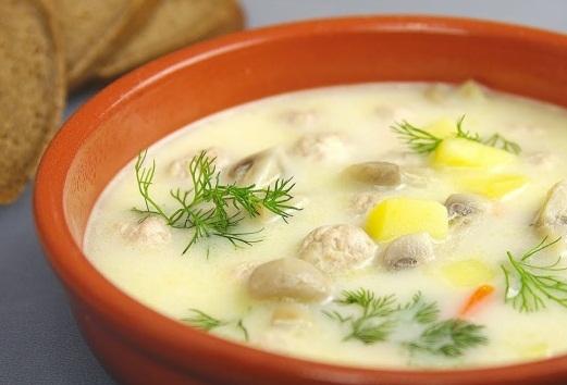 Сырный суп Особенный (ВИДЕО) - «Первое блюдо»