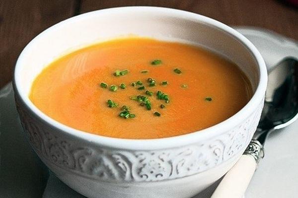 Крем-суп из тыквы с греческим йогуртом - «Первое блюдо»