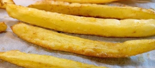 Картошка фри в духовке (ВИДЕО) - «Второе блюдо»