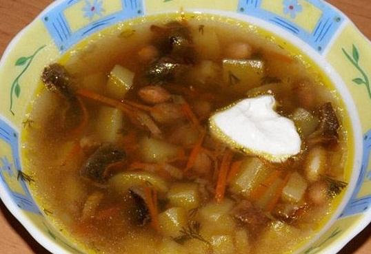 Грибной суп из вешенок - «Первое блюдо»