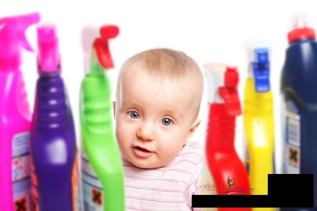 5 способов защитить детей от химических веществ в доме