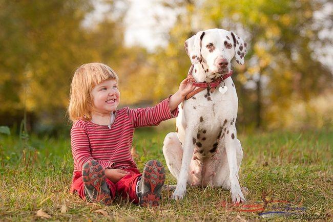 Дети и собаки – лучшие друзья