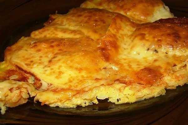 Картофельная пицца с колбасой в духовке - «Закуски»