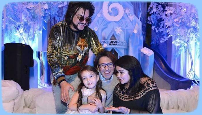 Филипп Киркоров подарил дочери на день рождения настоящую зимнюю сказку - «Шоу-Бизнес»