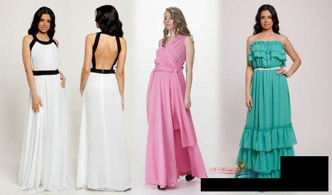 С чем носить длинное платье зимой: 3 не скучных идеи