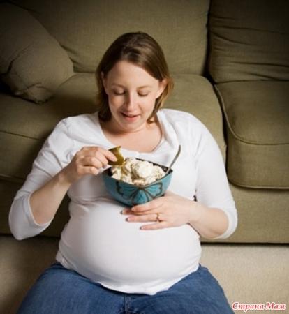 Как не поправиться при беременности? - «Беременность»