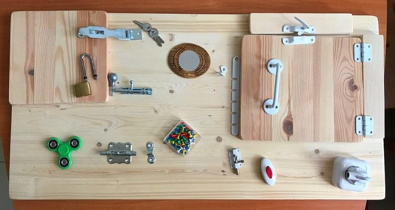 Как сделать бизиборд (и что это такое) - «Я и Дети»