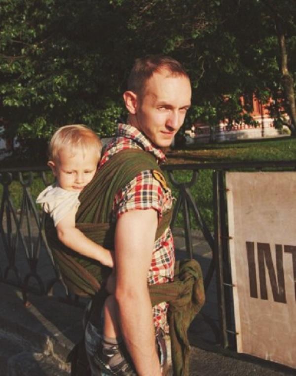 Плюсы и минусы слинга: мужской взгляд - «Я и Дети»