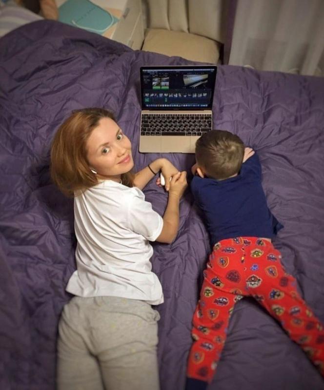 Сын Ольги Кузьминой проходит уроки видеомонтажа - «Я и Дети»