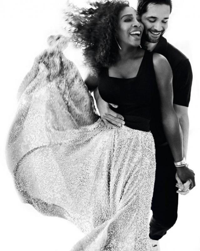 Серена Уильямс вместе с дочкой украсила обложку журнала Vogue - «Я и Дети»