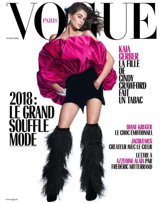 «Звездный час!»: Кайя Гербер впервые снялась для обложки Vogue - «Я и Дети»