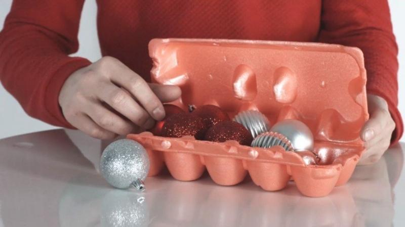 Как правильно хранить елочные игрушки - «Я и Дом»