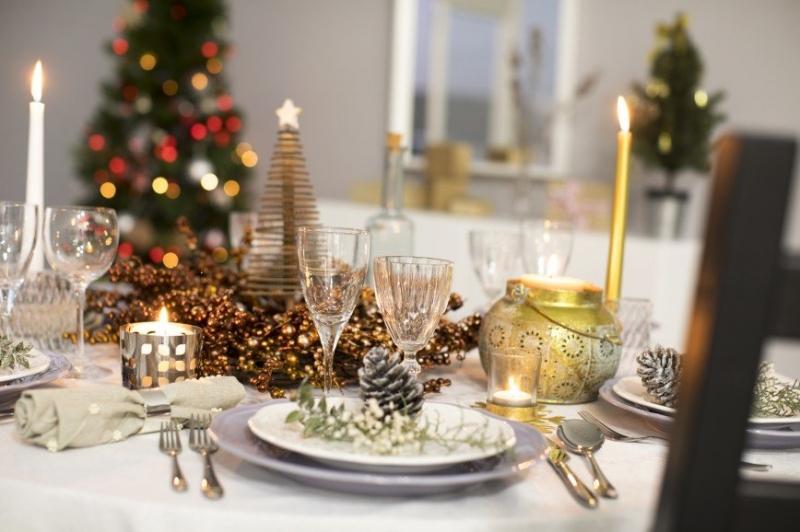 Новогодняя сервировка - от классики к простому - «Я и Дом»