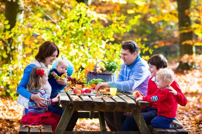 Про праздничный воскресный обед - «Семья»