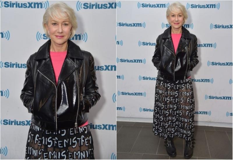 Хелен Миррен вышла в свет в прозрачной юбке - «Я как Звезда»