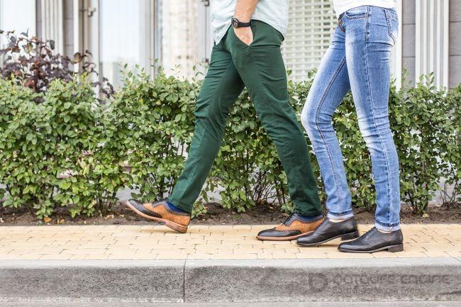 Правила выбора мужской обуви