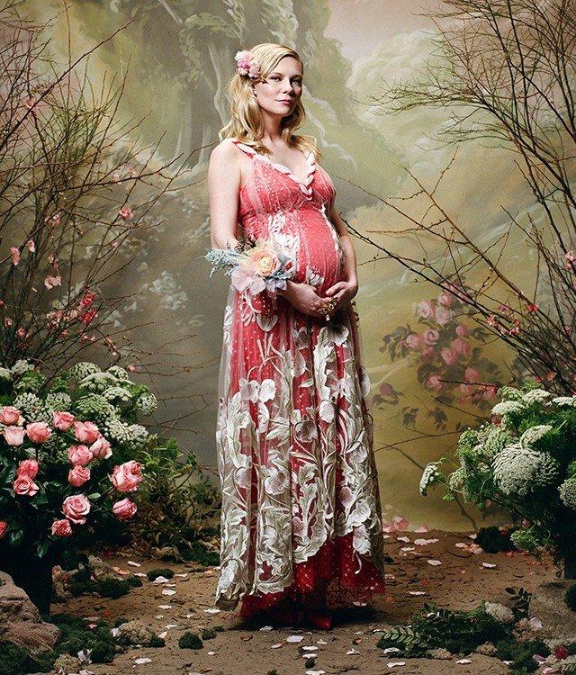 """""""Как пожилая женщина"""": беременная Кирстен Данст поразила поклонников - «Я и Дети»"""