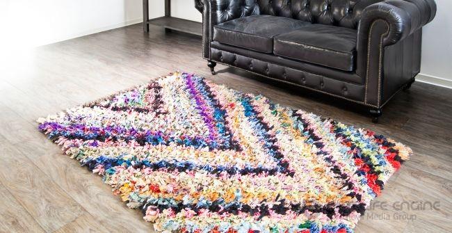 Рукоделие: лоскутные коврики для идеальной атмосферы