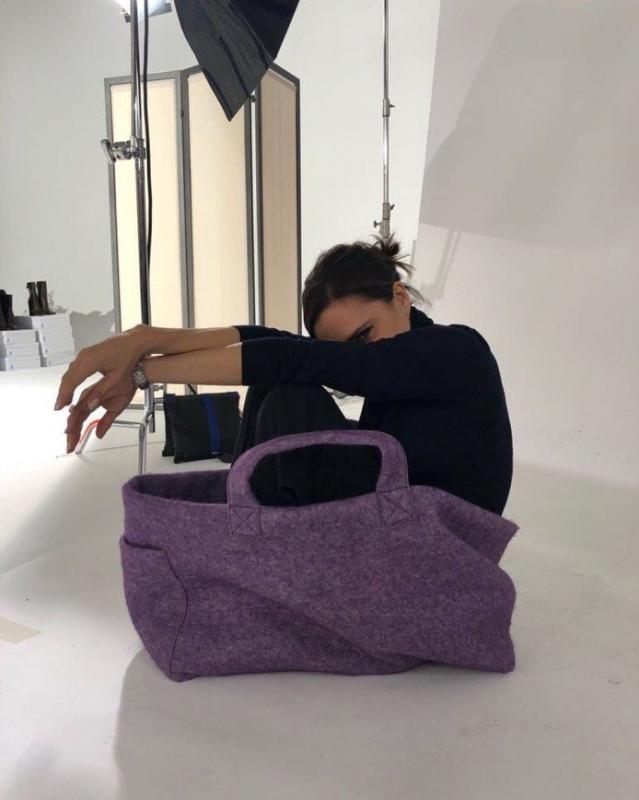 Дизайнер Виктория Бекхэм показала многофункциональность своих сумок - «Домашние Питомцы»