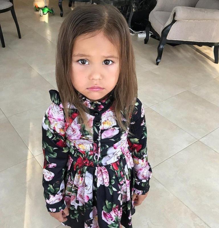 Оксана Самойлова показала, с какими глазами ходит на занятия ее дочь - «Я и Дети»