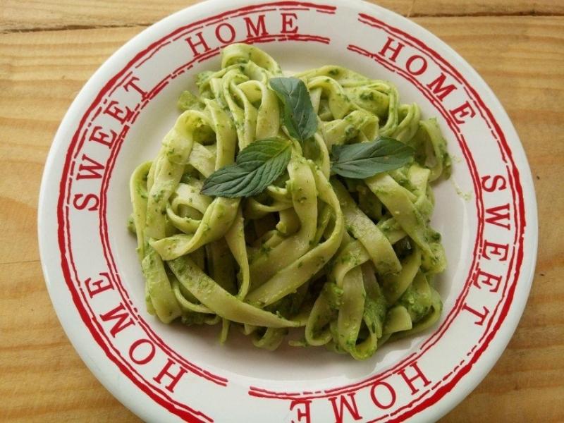 Для тех, кто не любит шпинат: паста с соусом песто от Марии Кравцовой - «Я и Кухня»