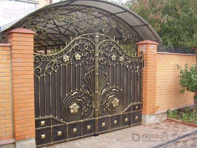 Как обновить ржавые ворота?