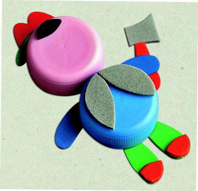 Крышки от пластиковых бутылок – в дело: игрушки своими руками - «Досуг и хобби»