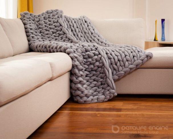 Пледы в интерьере: комочек тепла для вашего дома