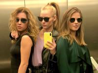 Светлана Ходченкова устроила фотосессию в лифте - «Я как Звезда»
