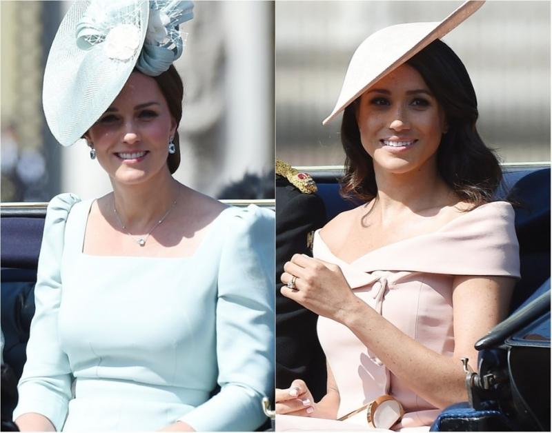 Кейт Миддлтон и Меган Маркл в элегантных нарядах блистали на торжестве в Лондоне - «Я как Звезда»