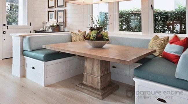 Какой уголок лучше установить в кухонном помещении. Выбор внешнего оформления и особенности моделей