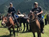 Валерия и Пригожин побывали в конном походе на Кавказе - «Я как Звезда»