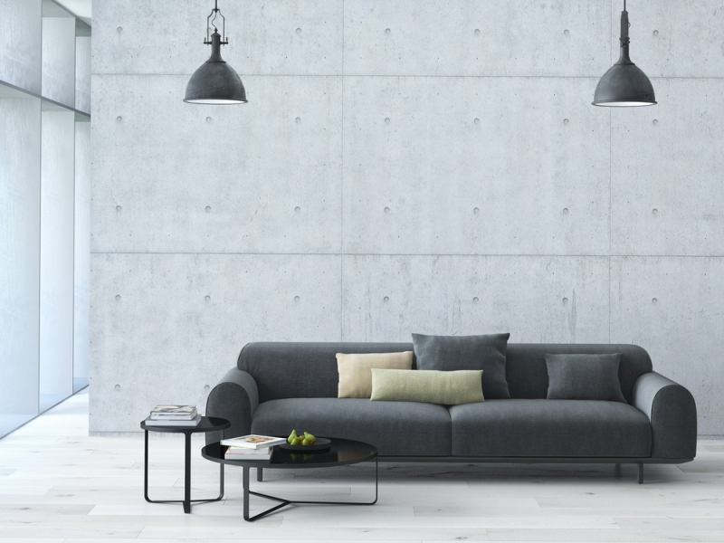 Как минимизировать мебель в гостиной - «Дом»