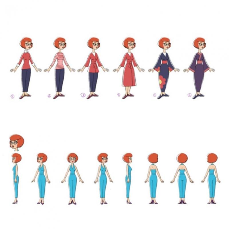 Мама Дяди Федора, Трубадурочка и Бонифаций: звезды мультипликационного подиума - «Красота»