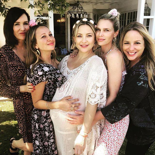 Кейт Хадсон устроила веселую вечеринку накануне родов - «Я и Отдых»