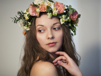 Плющ как признание в любви — мода на язык цветов XIX века возвращается - «Я и Мода»