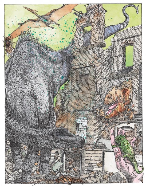 Почему вымерли динозавры и как они жили до этого? - «Образование»